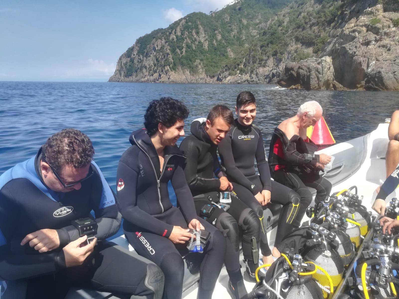 Liceo Tirinnanzi_diving