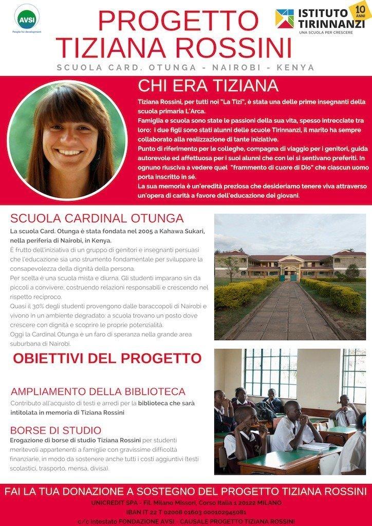 Progetto AVSI Tiziana Rossini