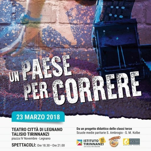 Musical Secondaria Kolbe Legnano_Un paese per correre