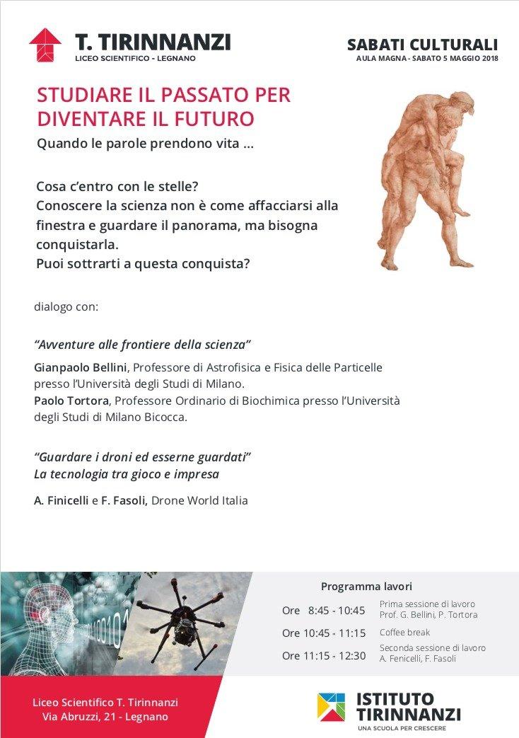 Sabati Culturali Liceo Tirinnanzi Legnano_Scienza e Tecnologia