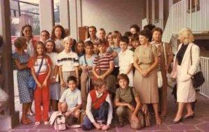 Scuola media Kolbe Legnano 1982