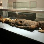 Una mummia...