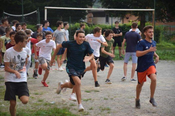 Convivenza inizio anno Liceo Tirinnanzi