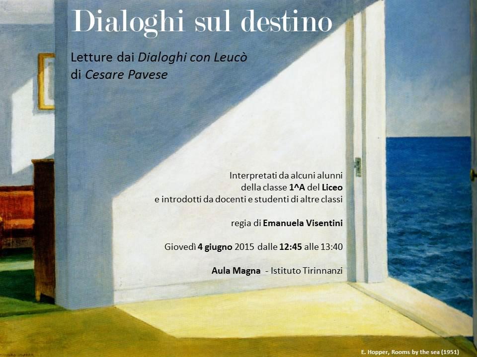 Dialoghi sul destino invito