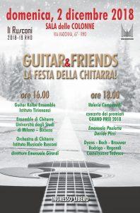 Guitar&friends 2018