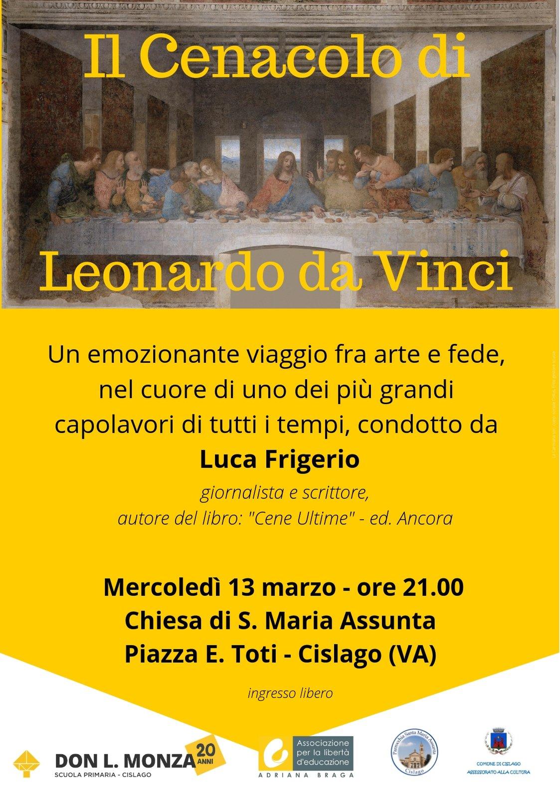 incontro sul Cenacolo di Leonardo