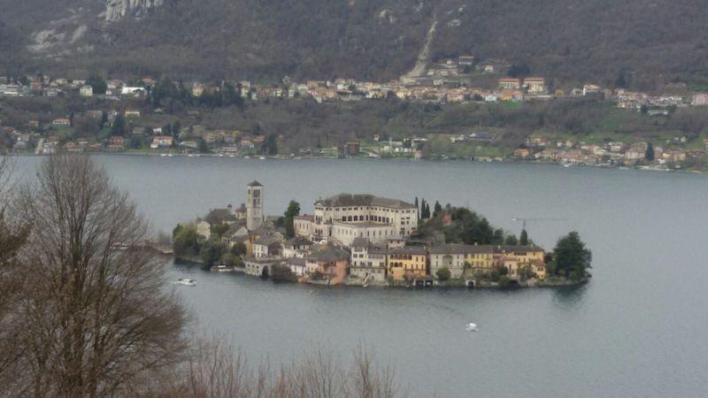 Liceo Tirinnanzi e australiani al lago d'Orta 2