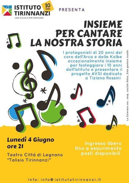 Locandina Concerto Coro 4 giugno