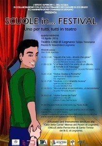 Locandina Scuole in Festival arca saggio 4-5