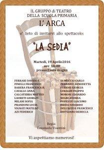 Locandina saggio 2^-3^ ARCA