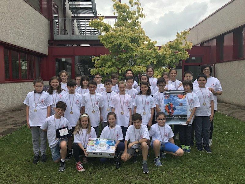 Primaria Arca Legnano campioni matematica
