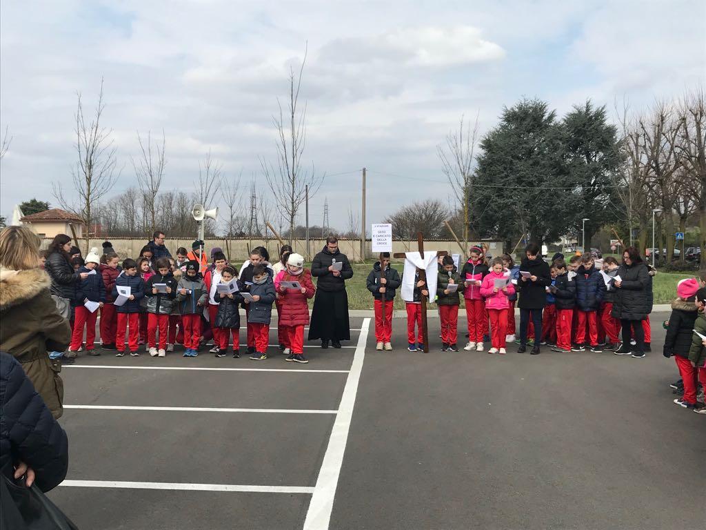 Via Crucis Scuola Primaria Don Luigi Monza Cislago
