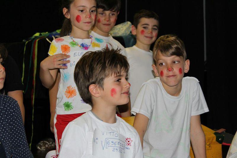 Scuola primaria L'Arca Legnano_olimpiadi clown