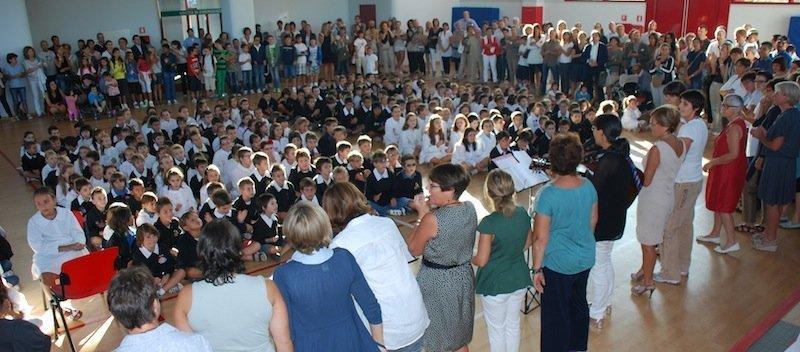 primo giorno di scuola arca 2013