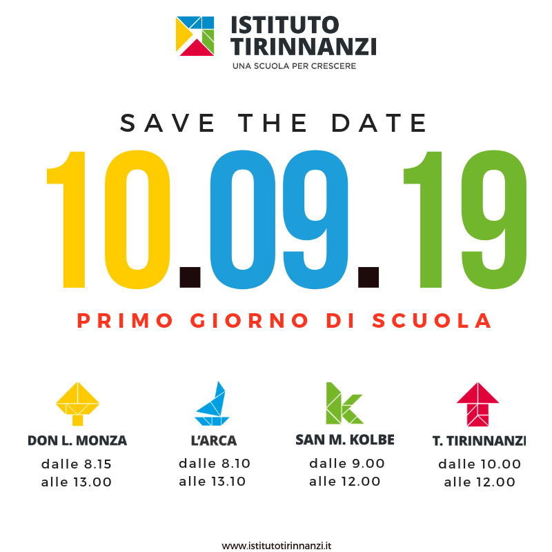 Istituto Tirinnanzi primo giorno 2019/2020